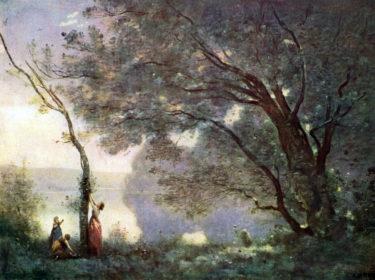 優しい筆のタッチが生む詩情豊かな風景 コロー「モルトフォンテーヌの思い出」
