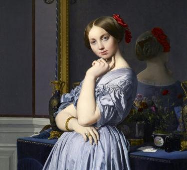 肖像画の認識が変わる絵画 アングル『ドーソンヴィル伯爵夫人の肖像』