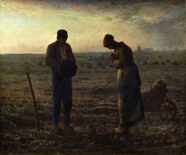 挫折と偏見を越えて到達した農村での自然体の画境 ミレー「晩鐘」