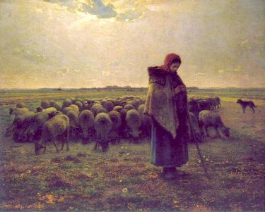 誤解や不遇の時代を超えて! 普遍的な美しさにあふれた傑作・ミレー「羊飼いの少女」