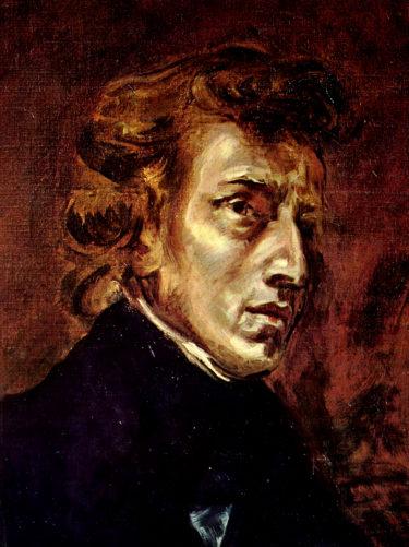 ピアノの詩人の内面の世界を伝える・ドラクロワ「ショパンの肖像」