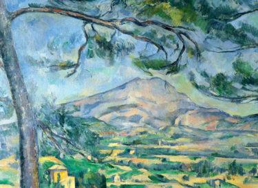 見た目の風景画から存在の本質に迫る風景画へ・セザンヌ『サント・ヴィクトワール山』