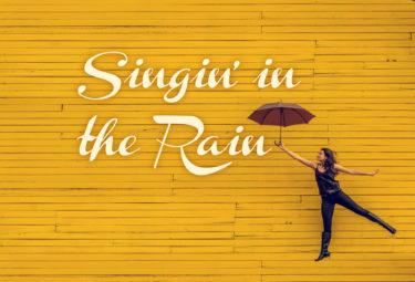 ミュージカルの醍醐味がぎっしり詰まった映画・ジーン・ケリー「雨に唄えば」