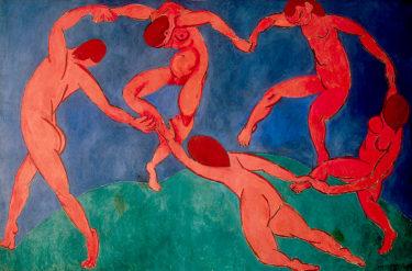 テーマが明確! 動きや構図、色彩に特化した絵画 マティス「ダンス」