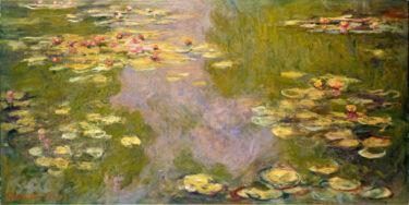 心象風景と現実がオーバーラップした絵画 モネ「睡蓮」